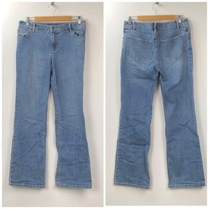 Used, ❤️J. Jill Light Wash Stretch Bootcut Jeans for sale